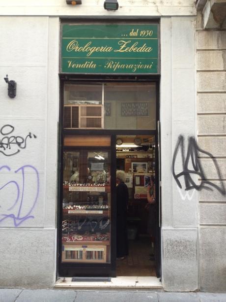 orologiaio zebedia @ via zebedia 9, milan