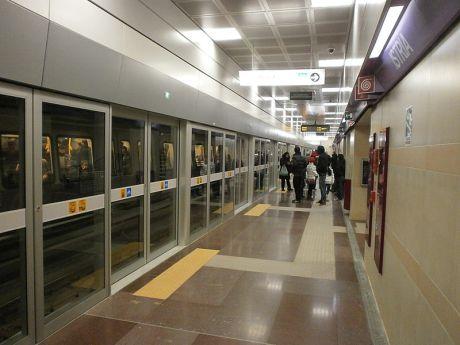 "metro line 5 ""lilla"" @ milan"