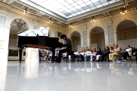 image from pianocity @ milan